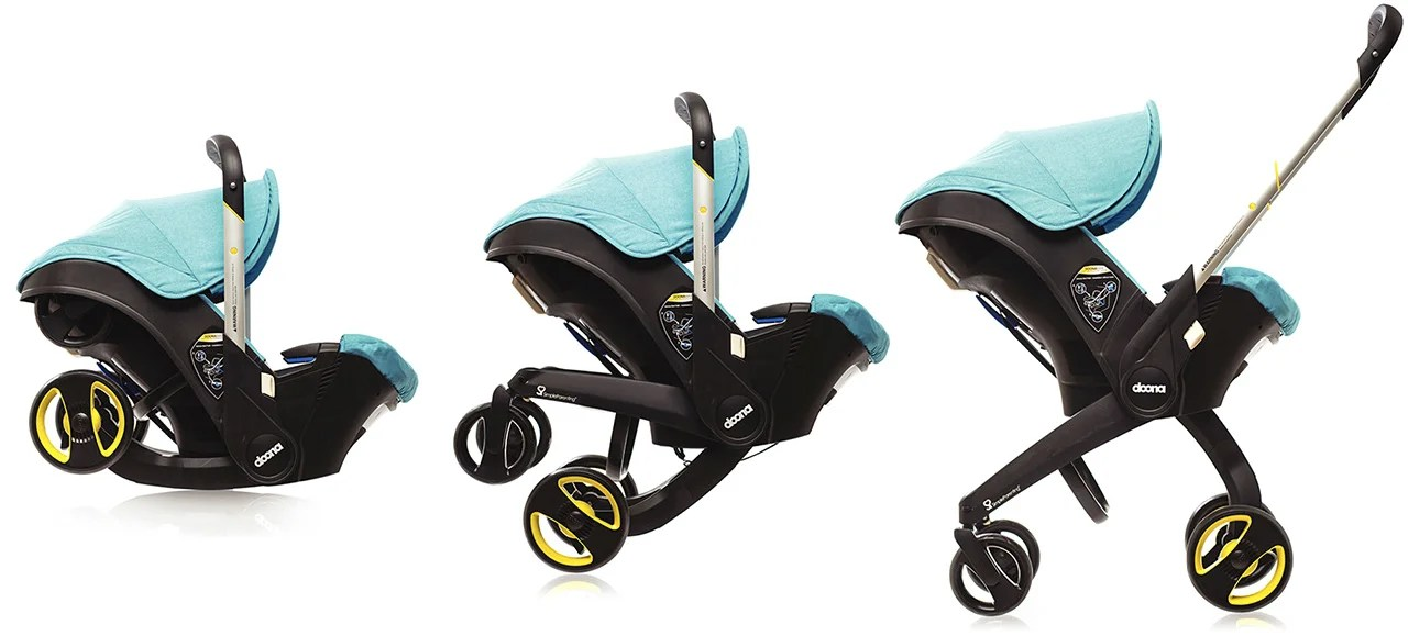 Baby Stroller Online Australia A Car Seat With Retractable Stroller Wheels Frees Up Boot