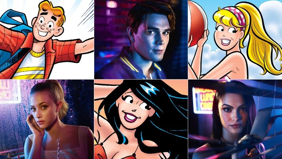 Pilot Quotes Wallpapers Comparing The Classic Archie Characters To Their Twisted