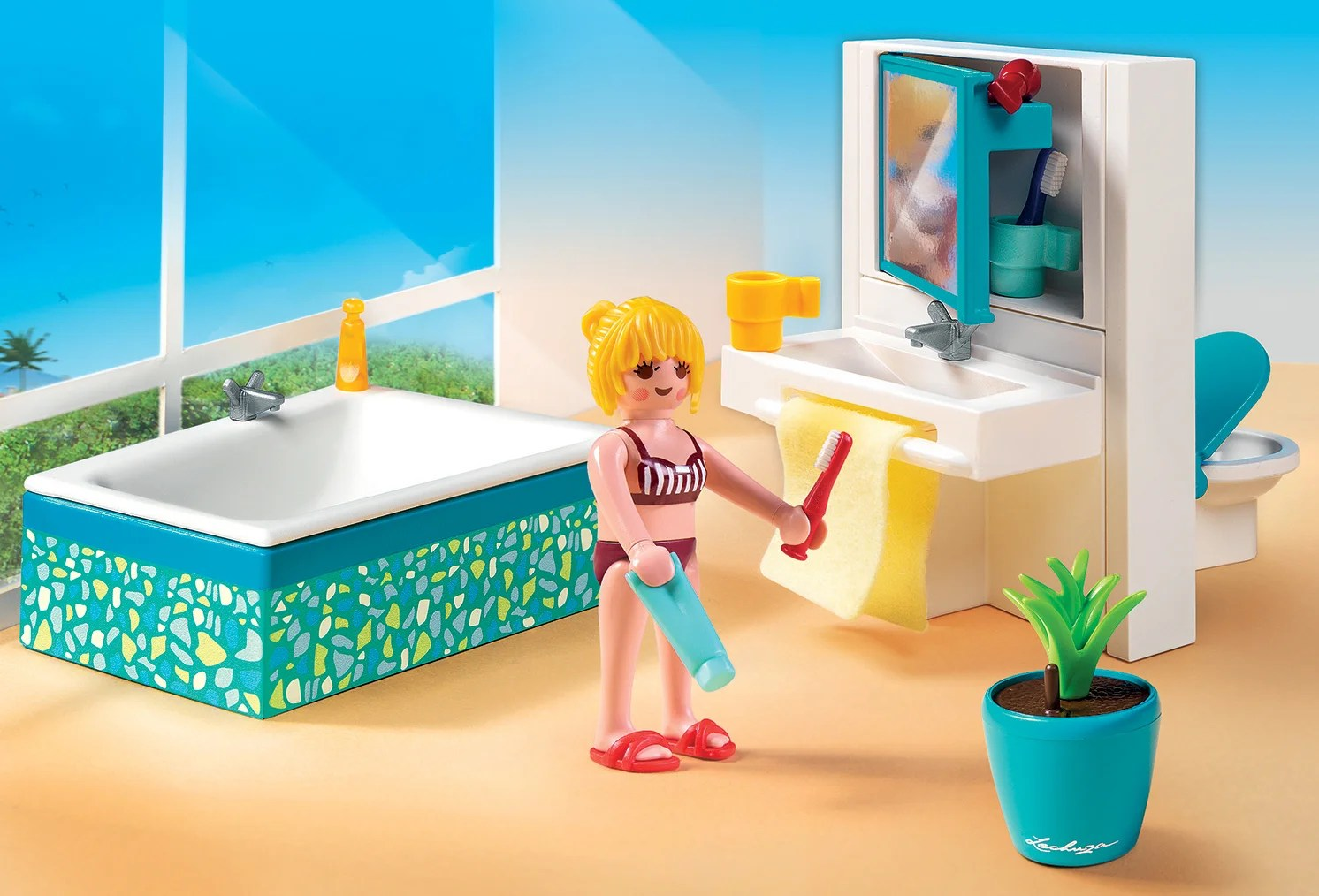 Playmobil 5577 - Modernes Badezimmer It 39s Ok To Be Jealous Of Playmobil 39s New Ultra Modern