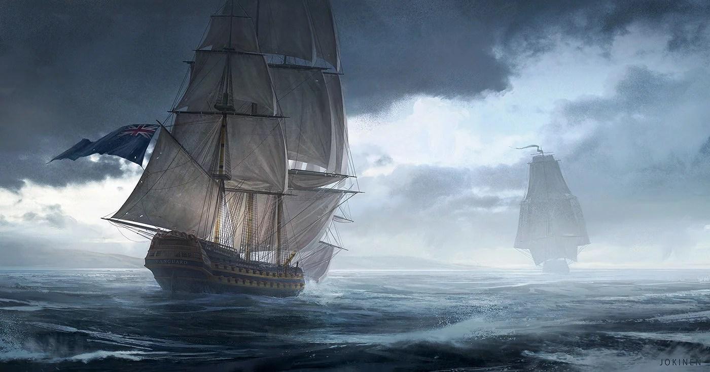 Otaku Quotes Wallpaper Fine Art The Glorious Age Of Sail Kotaku Australia