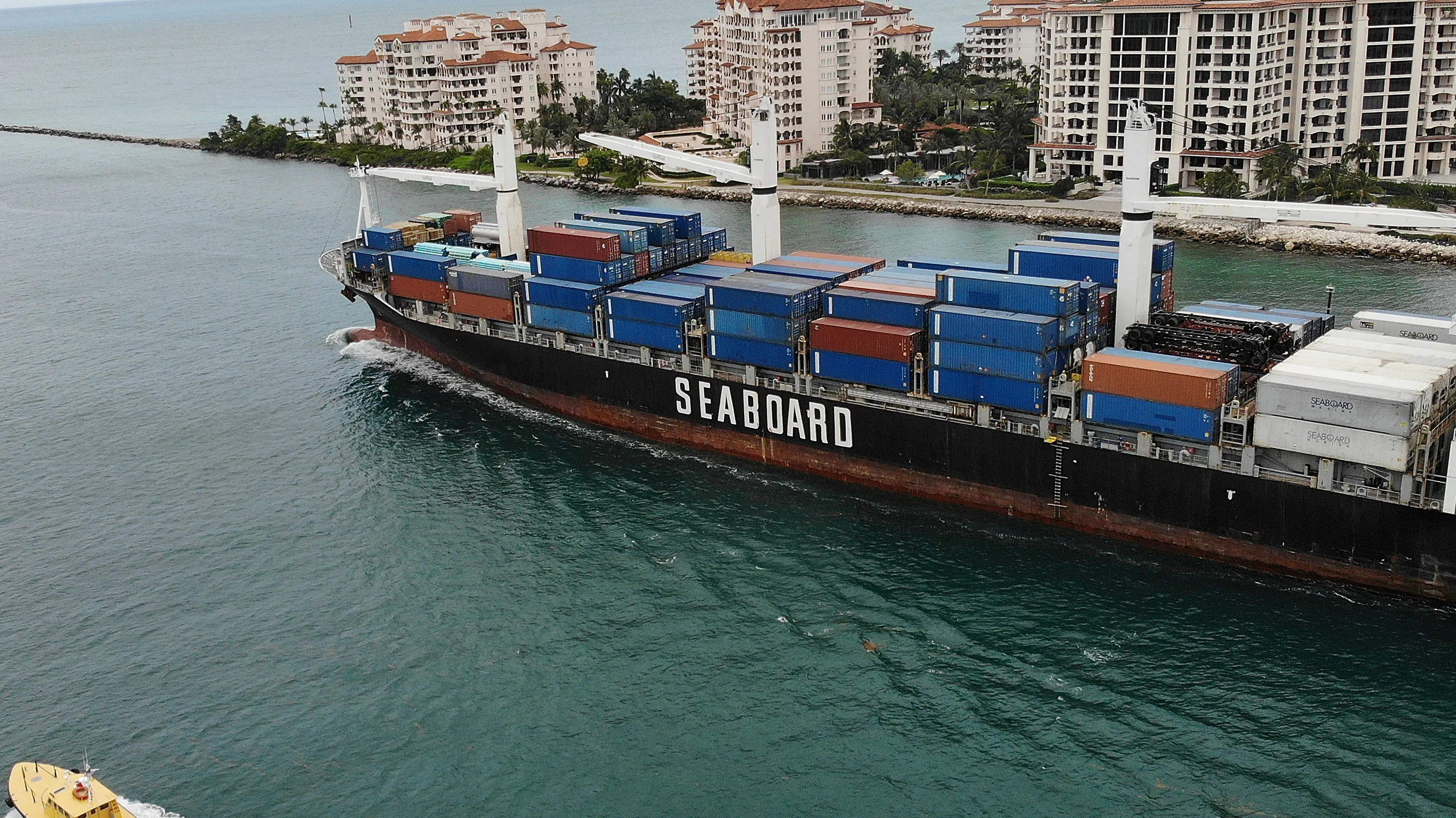 Miami Port More Than Half A Million Corals Died To Bring Bigger Ships Into