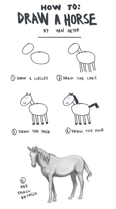 How to draw a horse How To Draw an Owl Know Your Meme