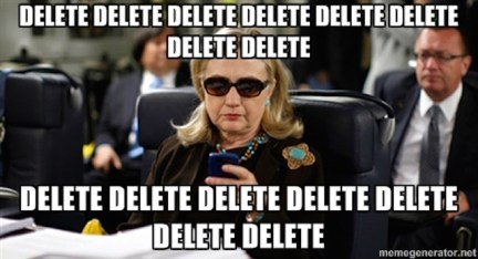 Image result for clinton email meme