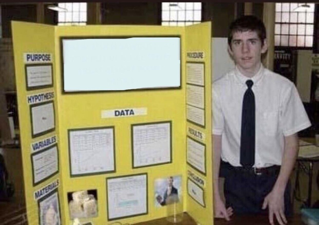 Minorities in Heaven (template) Fake Science Fair Projects Know