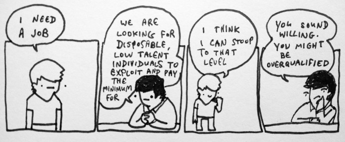 Simple Job Webcomics Know Your Meme - overqualified for the job