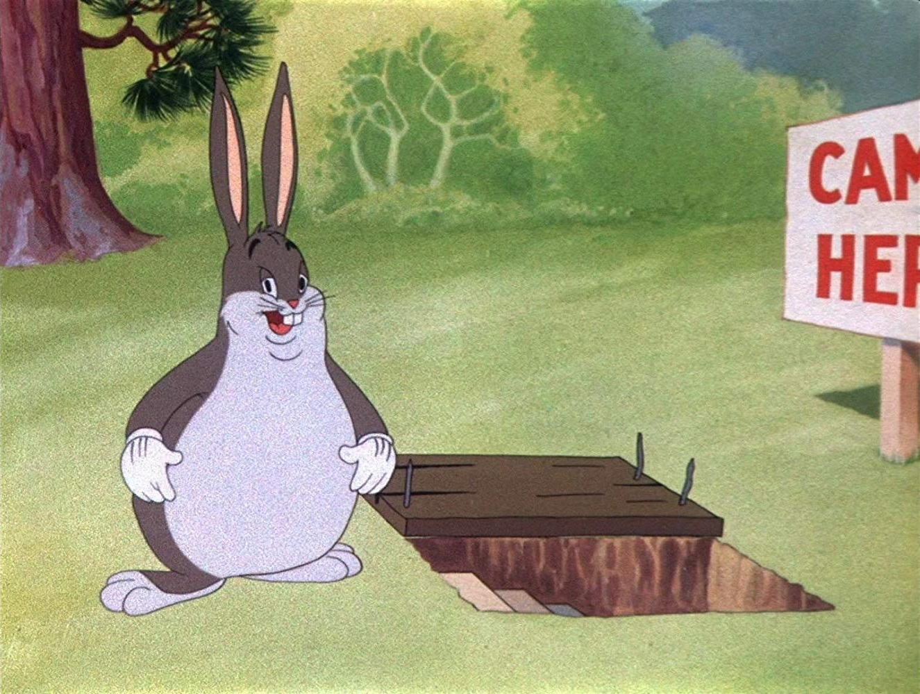 Big Chungus Wabbit Twouble Big Chungus Know Your Meme