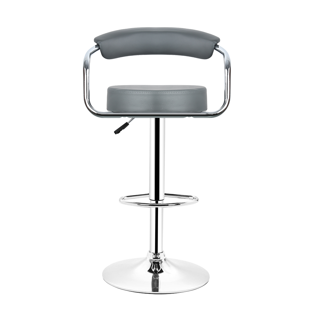 Charly Lot De 2 Tabourets De Bar Noirs Wiss Lot De 2 Tabouret De Bar Gris Avec Accoudoir Chaise De Bar