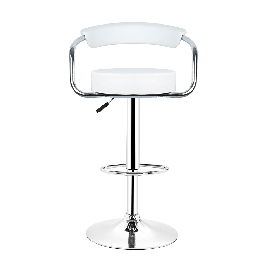 Charly Lot De 2 Tabourets De Bar Noirs Wiss Lot De 2 Tabouret De Bar Blanc Avec Accoudoir Chaise De Bar