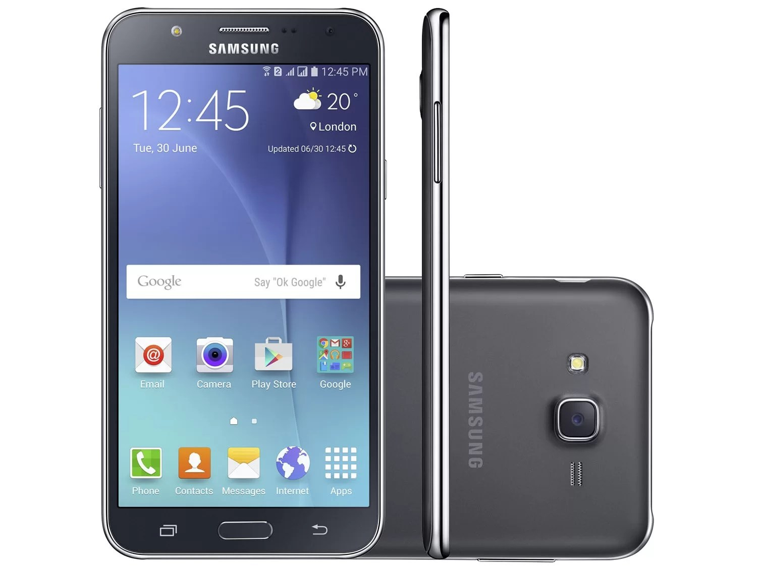 J7 Samsung New Launch Samsung Galaxy J7 2016 Black Unlocked Dual Sim