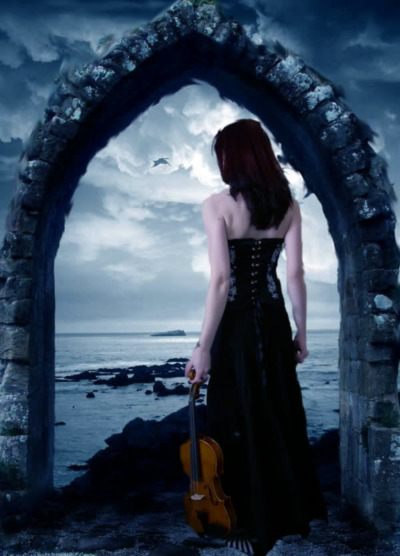 Sad Girl Hd Wallpaper With Quotes Girl With Violin Music Myniceprofile Com