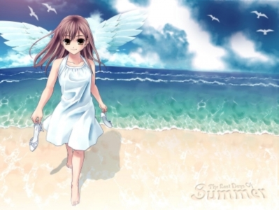 Cute Baby Sorry Hd Wallpaper Anime Girl The Last Day Of Summer Anime