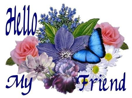 Kisses Wallpapers With Quotes Hello My Friend Flowers Hello Myniceprofile Com