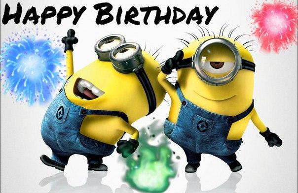 Happy Birthday Animated Wallpaper Happy Birthday Minions Happy Birthday