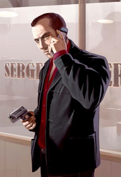 God Of War D Grand Theft Auto Iv Concept Art