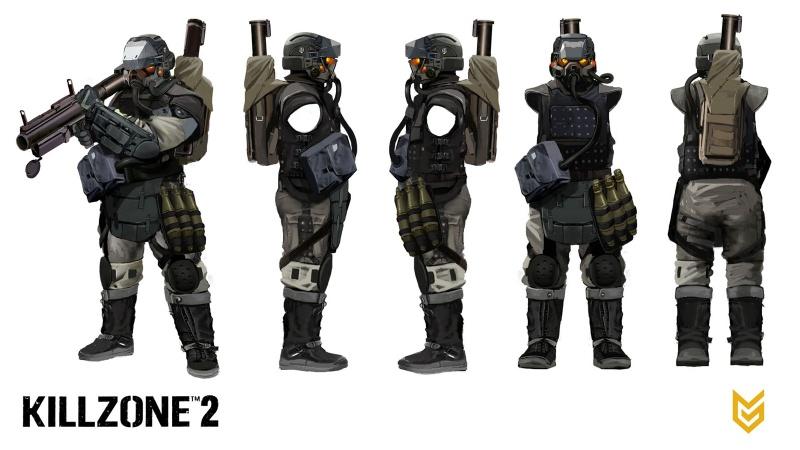 Killzone Shadow Fall Mobile Wallpaper Killzone 2 Concept Art