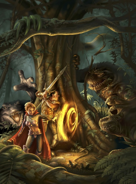 Monster Girl Quest Wallpaper Neverwinter Nights Concept Art