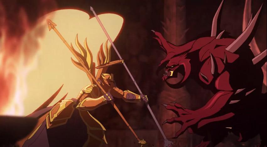 Ps3 Animated Wallpaper Diablo 3 Wrath Animated Short Revealed Explores Angel