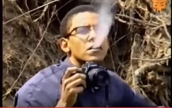 Different times Barack Obama was linked to smoking