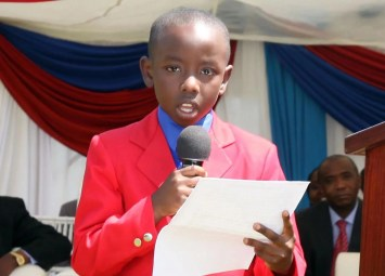 Kenya's Youngest Author Starts Second Book