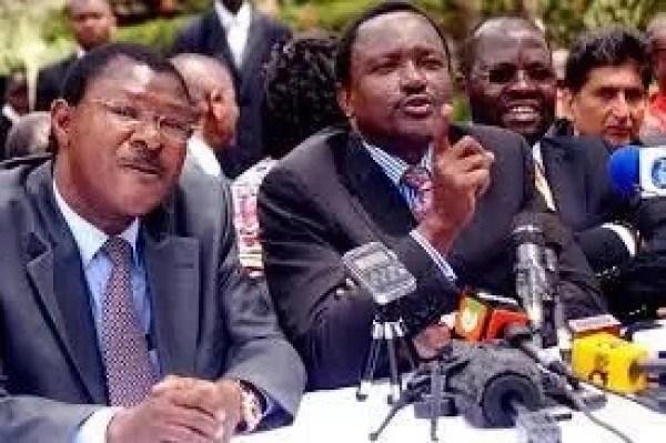 Wetangula says Raila Odinga is a presidential candidate