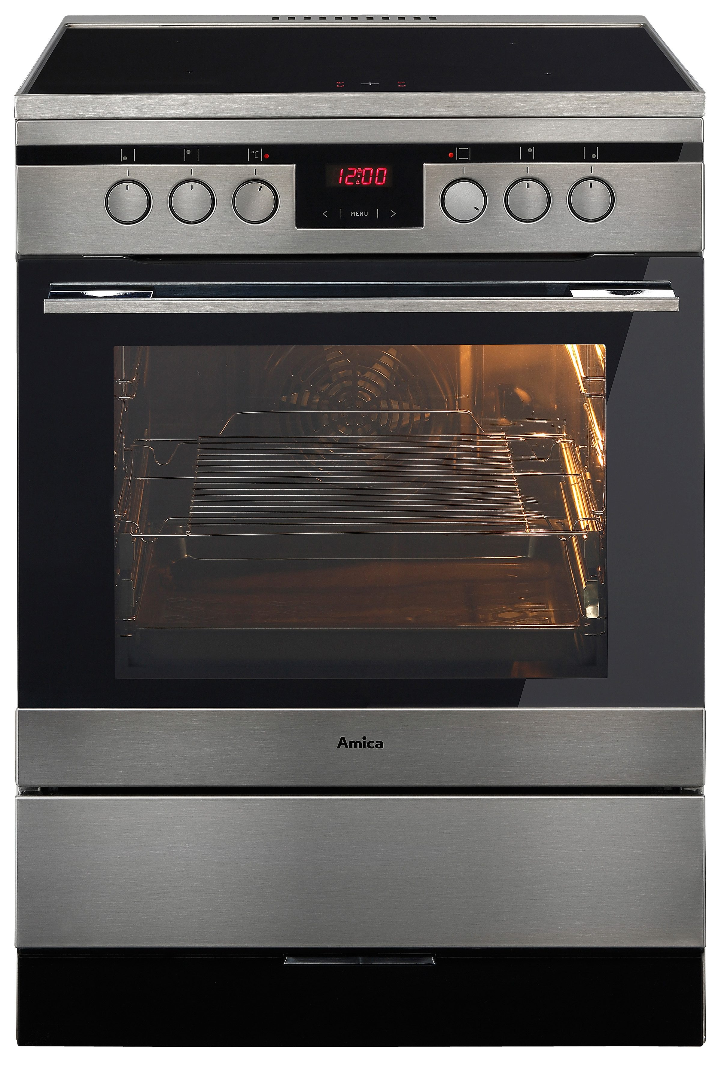 Backofen Induktion Amica Induktions-standherd 60 Cm Shi 11674 E, A | Otto