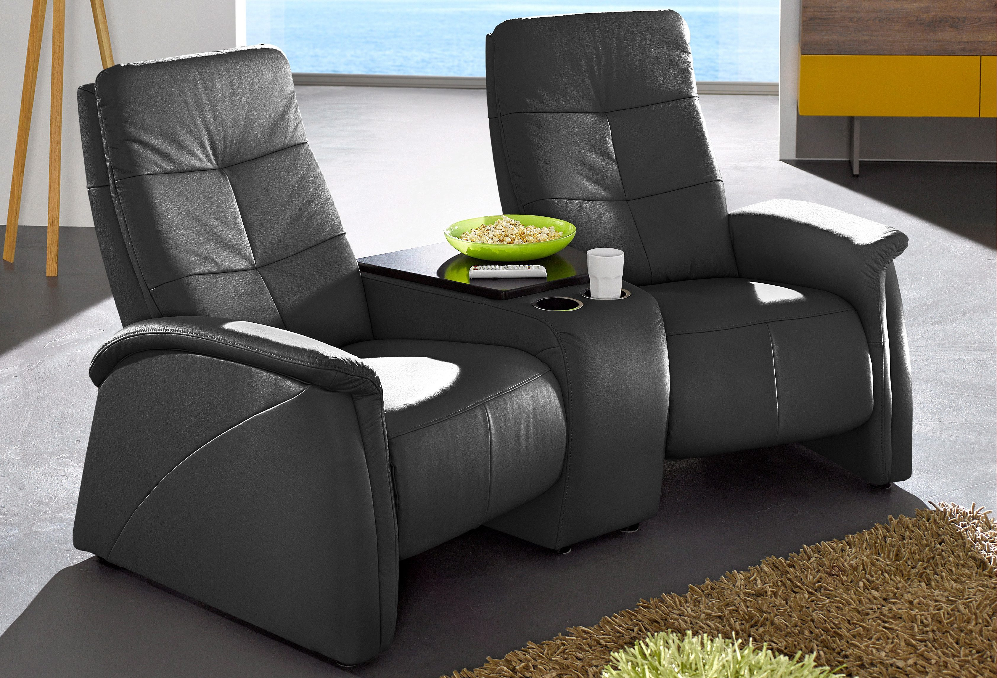 Kinosessel Wohnzimmer Exxpo - Sofa Fashion 2-sitzer, Mit Relaxfunktion