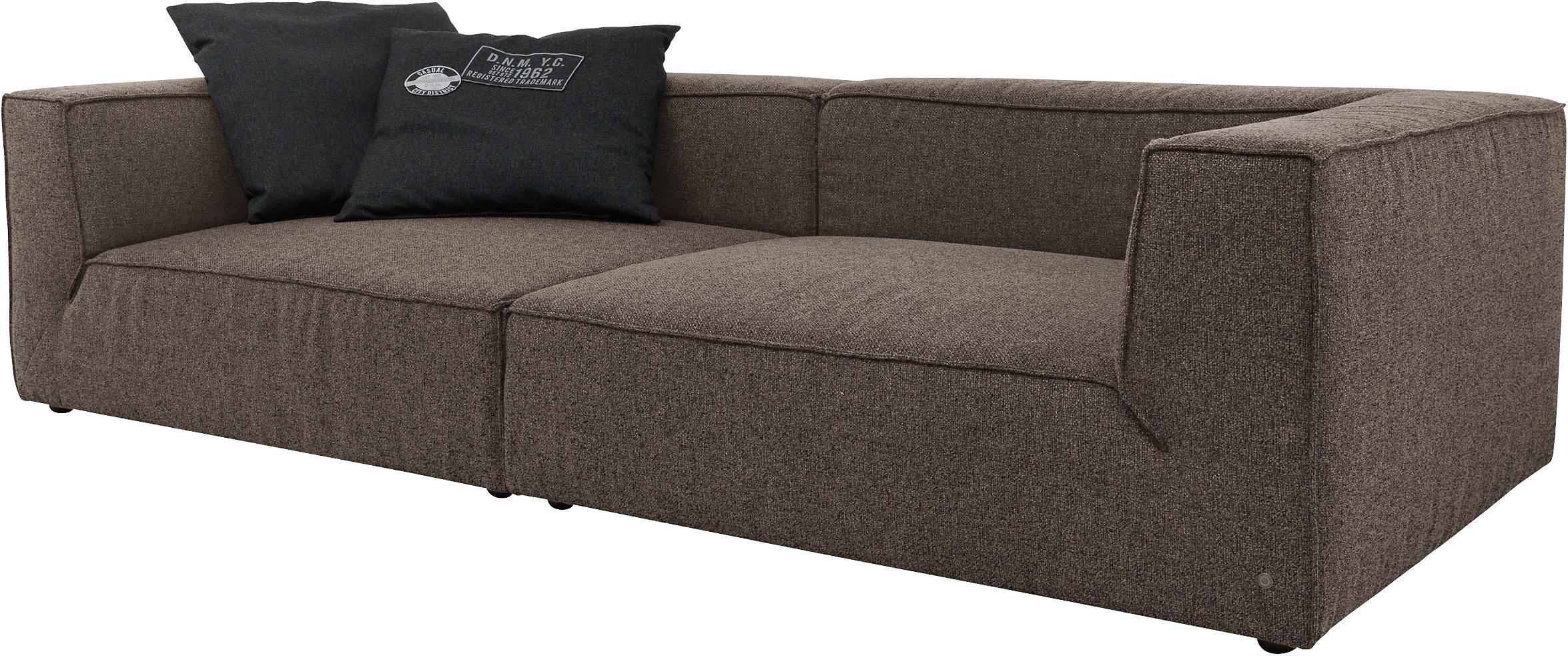 Big Sofa Xxl Beige Tom Tailor Big-sofa »big Cube«, Wahlweise Mit