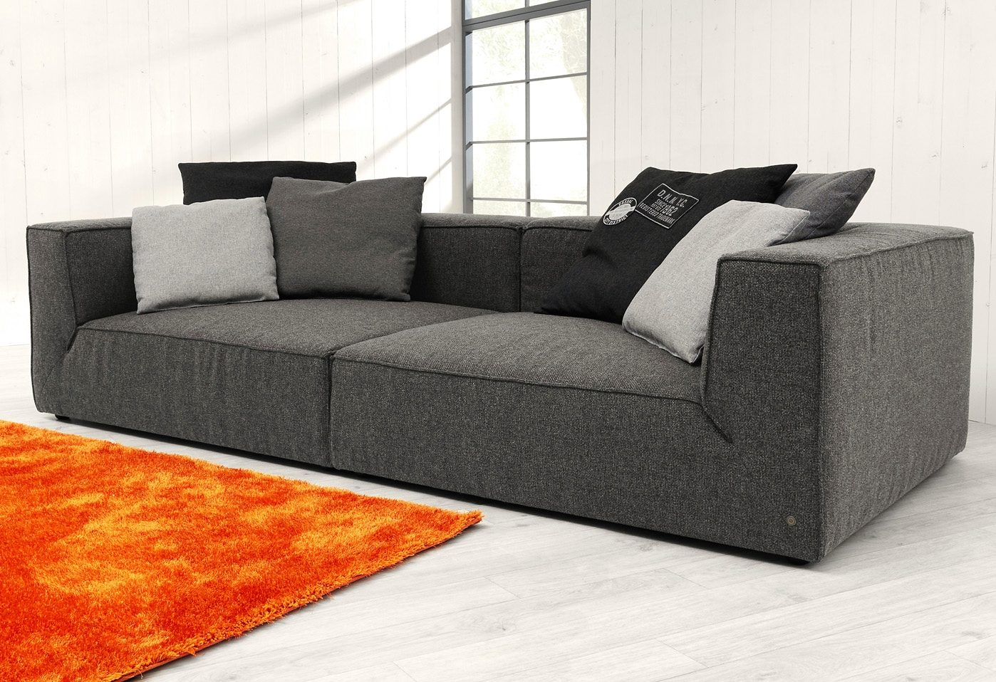 Stylische Sofas Tom Tailor Big-sofa »big Cube«, Wahlweise Mit