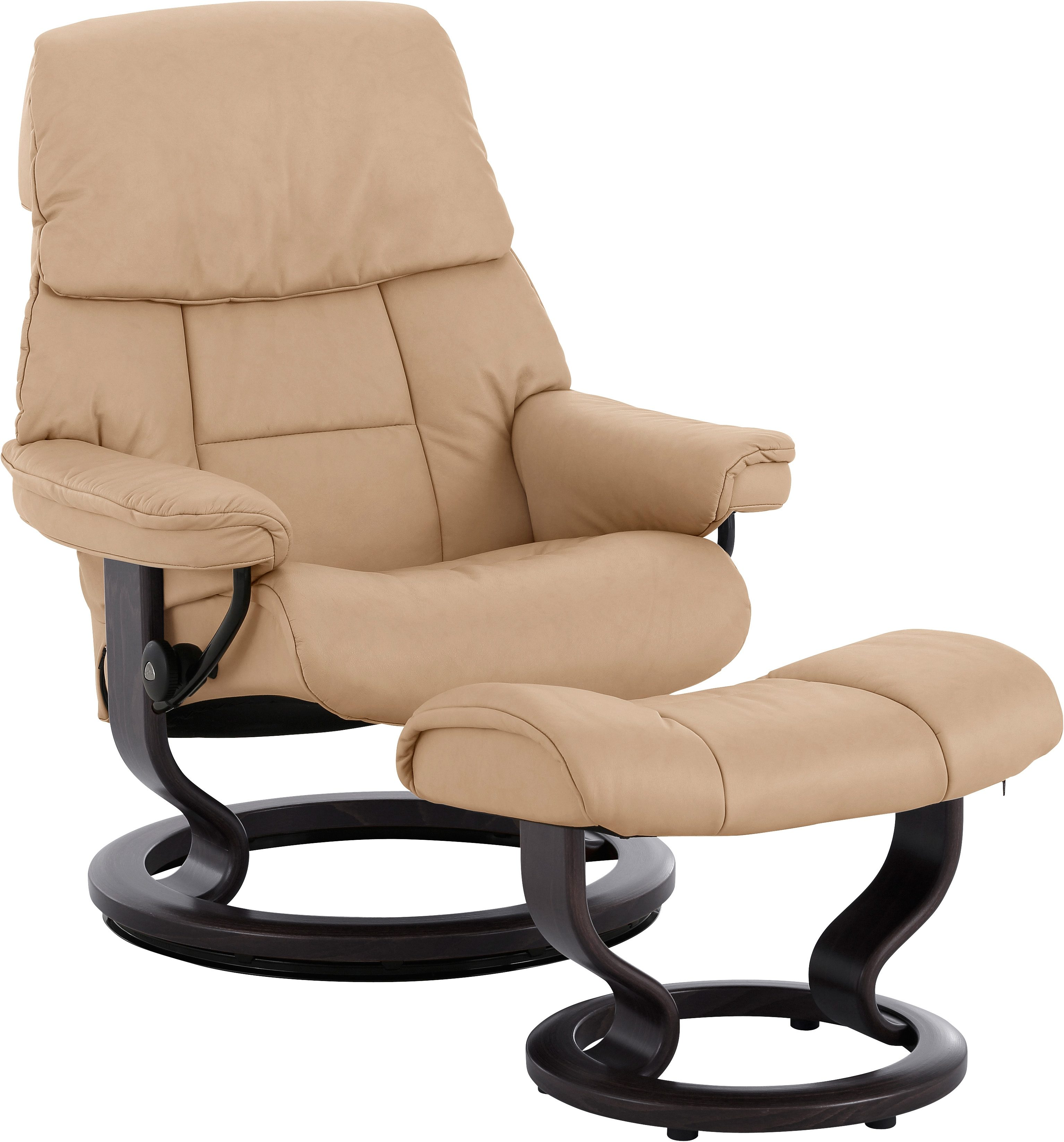 Stressless Sessel Inkl. Hocker Modell Sunrise (m) Classic Stressless Atlantic Sessel Mit Hocker
