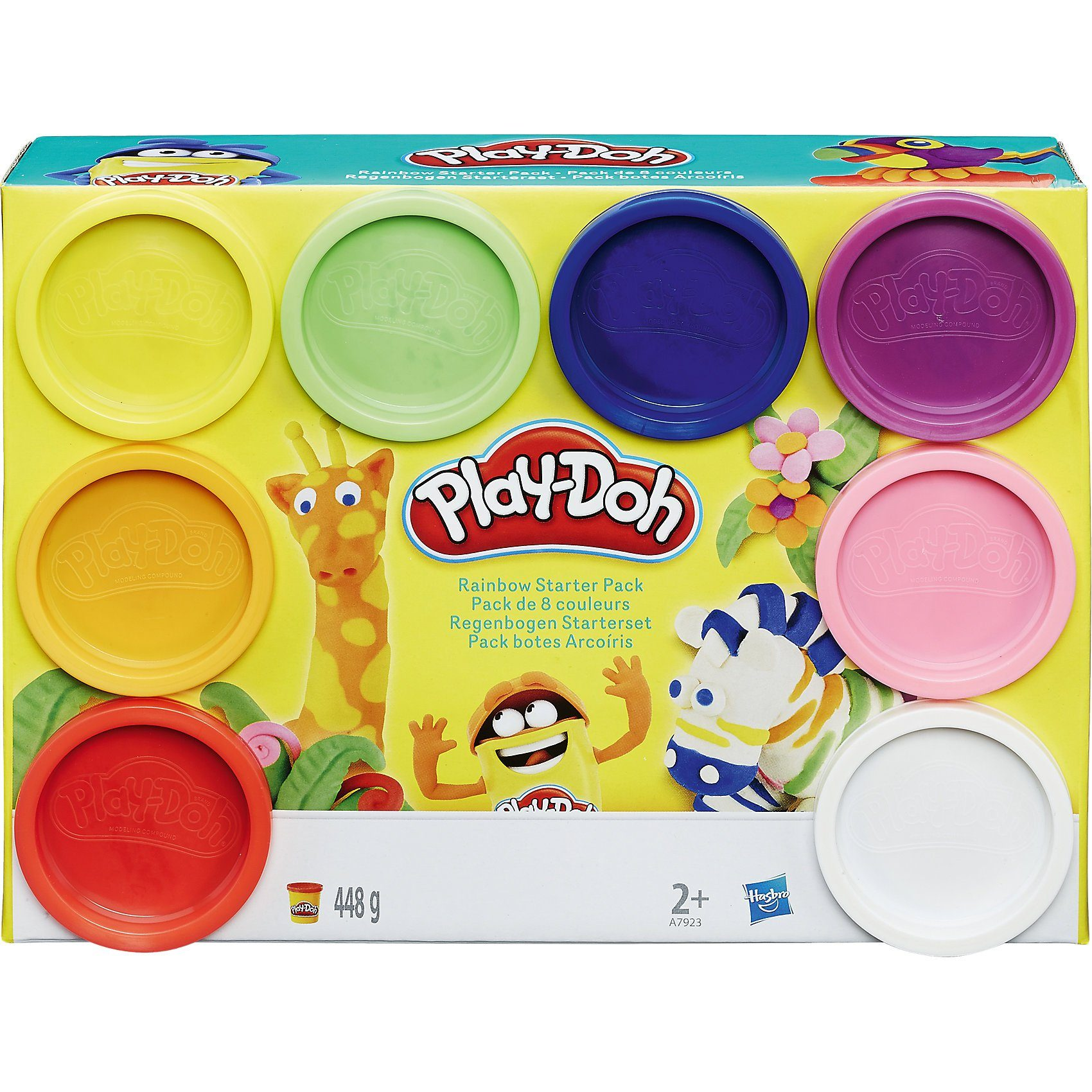 Play Doh Knet Küche Hasbro Play Doh Knet Dosen 8er Pack Rainbow Of Colors Online Kaufen Otto