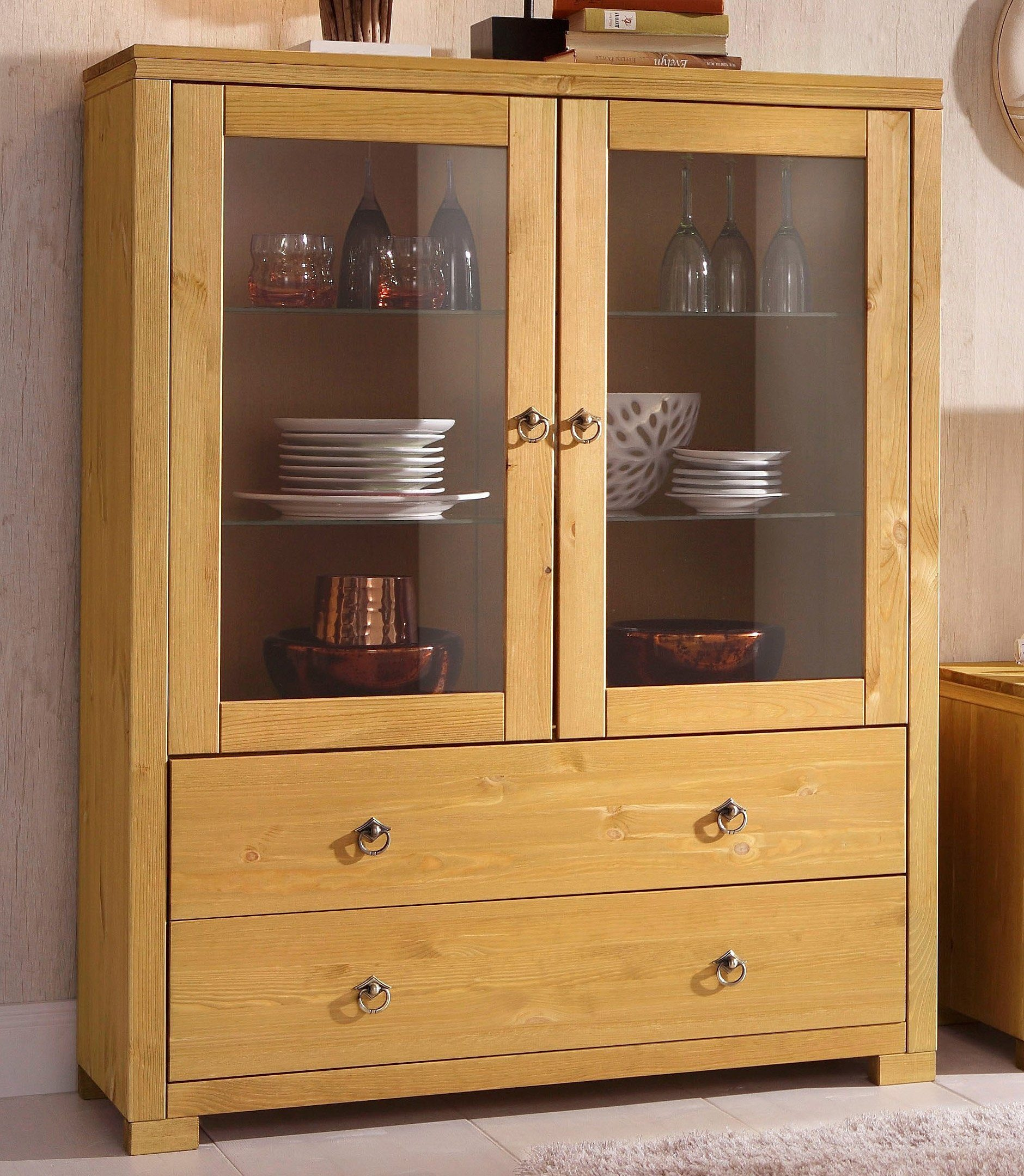 Home Affair Möbel Highboard, Home Affaire, »gotland«, Breite 101 Cm | Otto