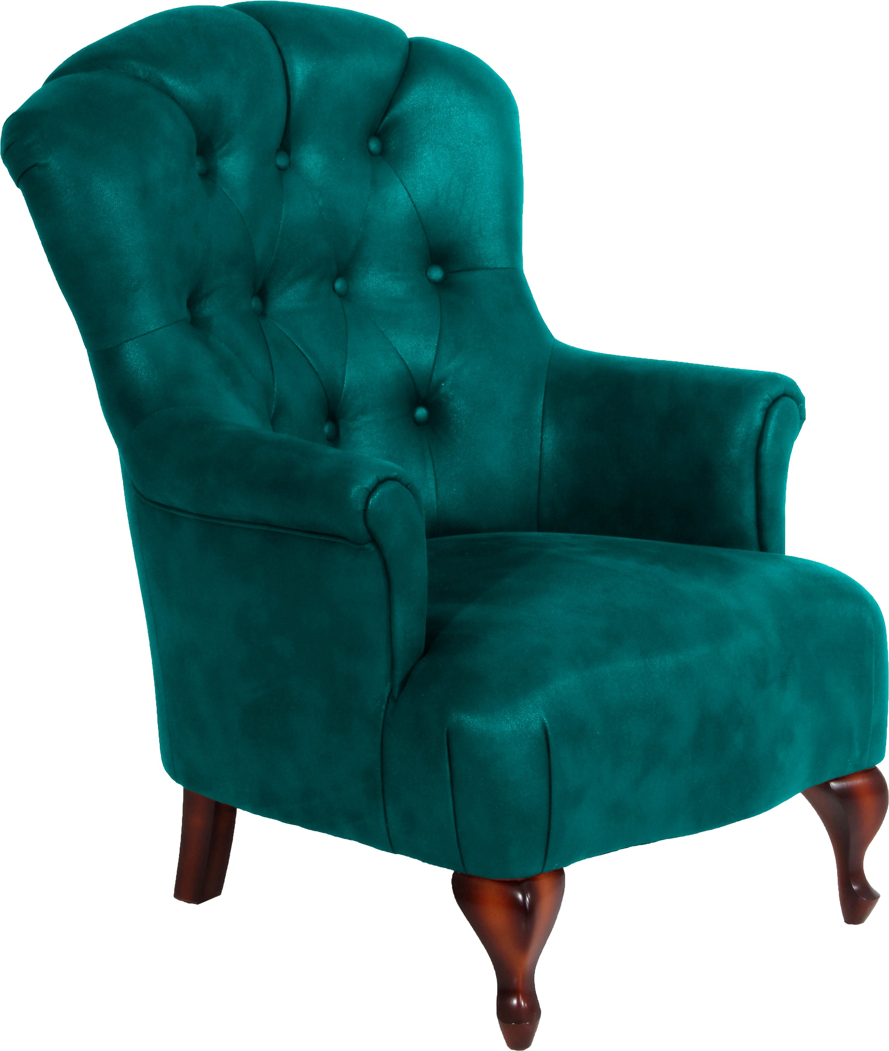 Sessel Retro Design Max Winzer® Chesterfield Sessel »clara«, Mit Edler
