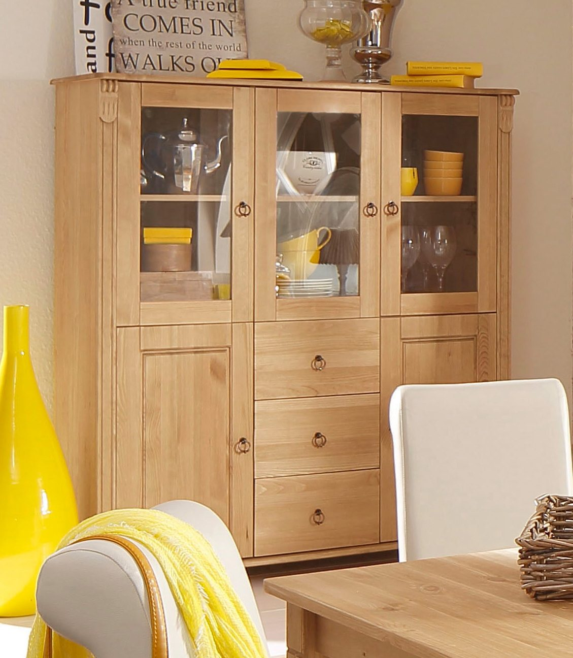 Highboard 100 Cm Breit Home Affaire Highboard »ferrera«, 127 Cm Breit | Otto