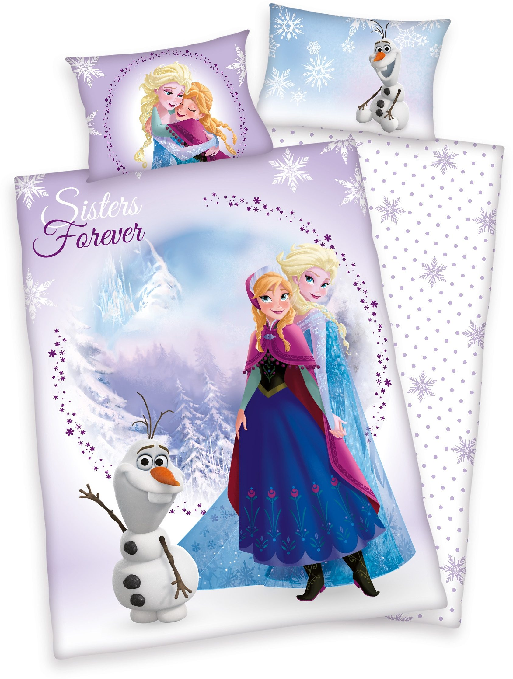 Kinderbettw228;sche Disney 187;frozen Sisters171; Eisk246;nigin