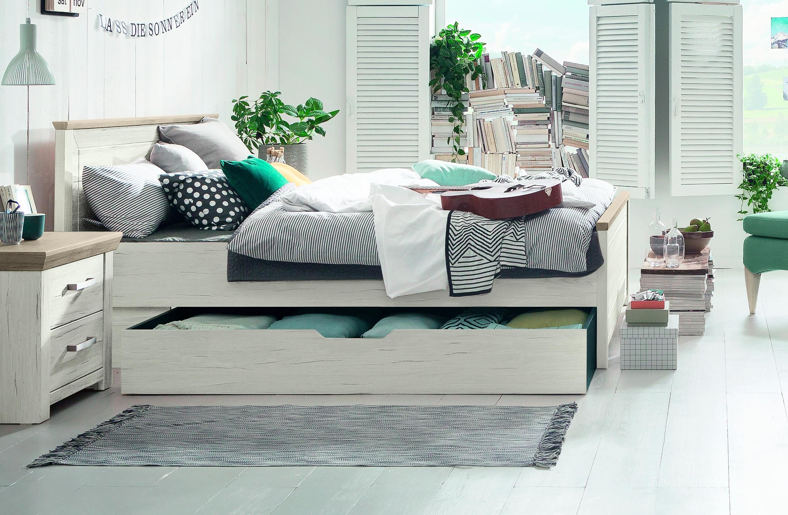 Schlafzimmer Set Otto Set One By Musterring Bett »oakland« Typ 81 Und 82, In