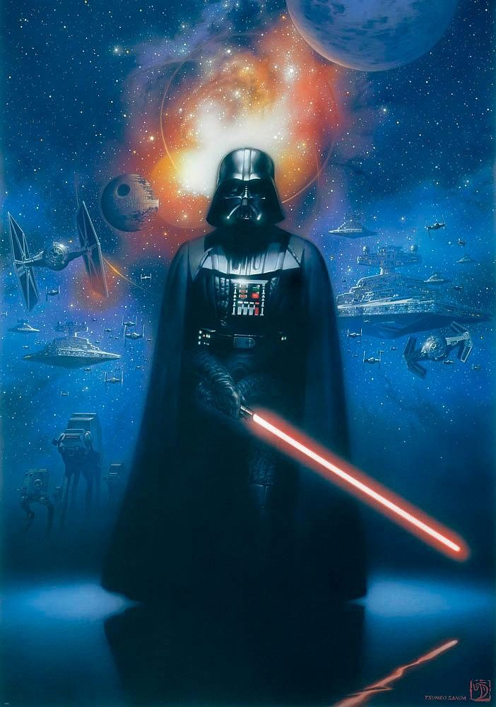 Wohnzimmer Tapeten Online Home Affaire Fototapete »star Wars Darth Vader«, 184/254