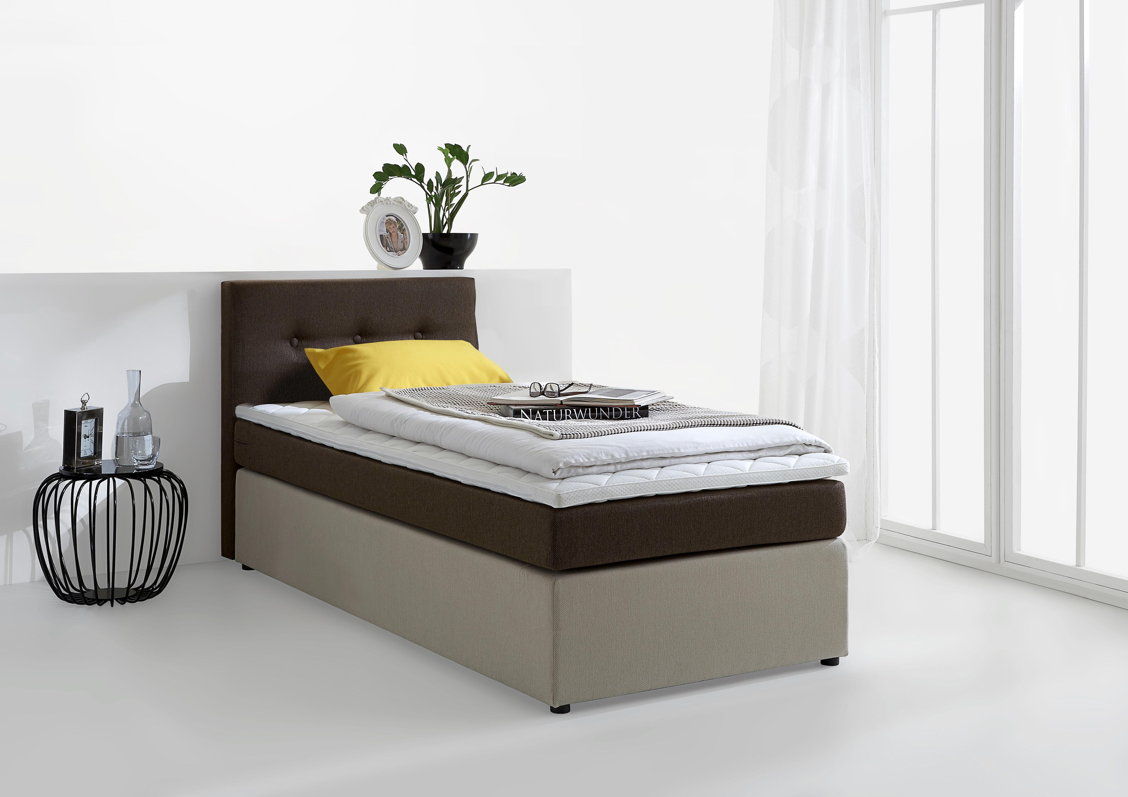 Boxspringbett Inkl Topper Atlantic Home Collection