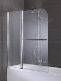 Badewannenaufsatz Spring, Duschabtrennung, 2-teilig ...