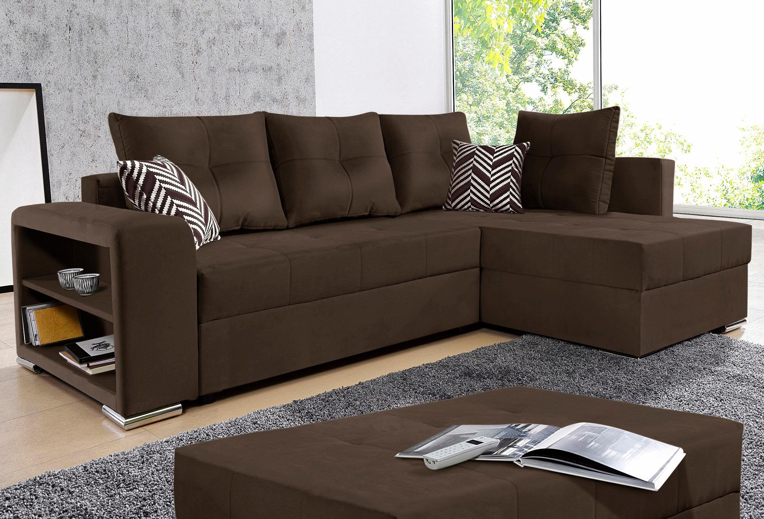Ecksofa Mit Bettfunktion Collection Ab Ecksofa, Mit Bettfunktion, Inklusive