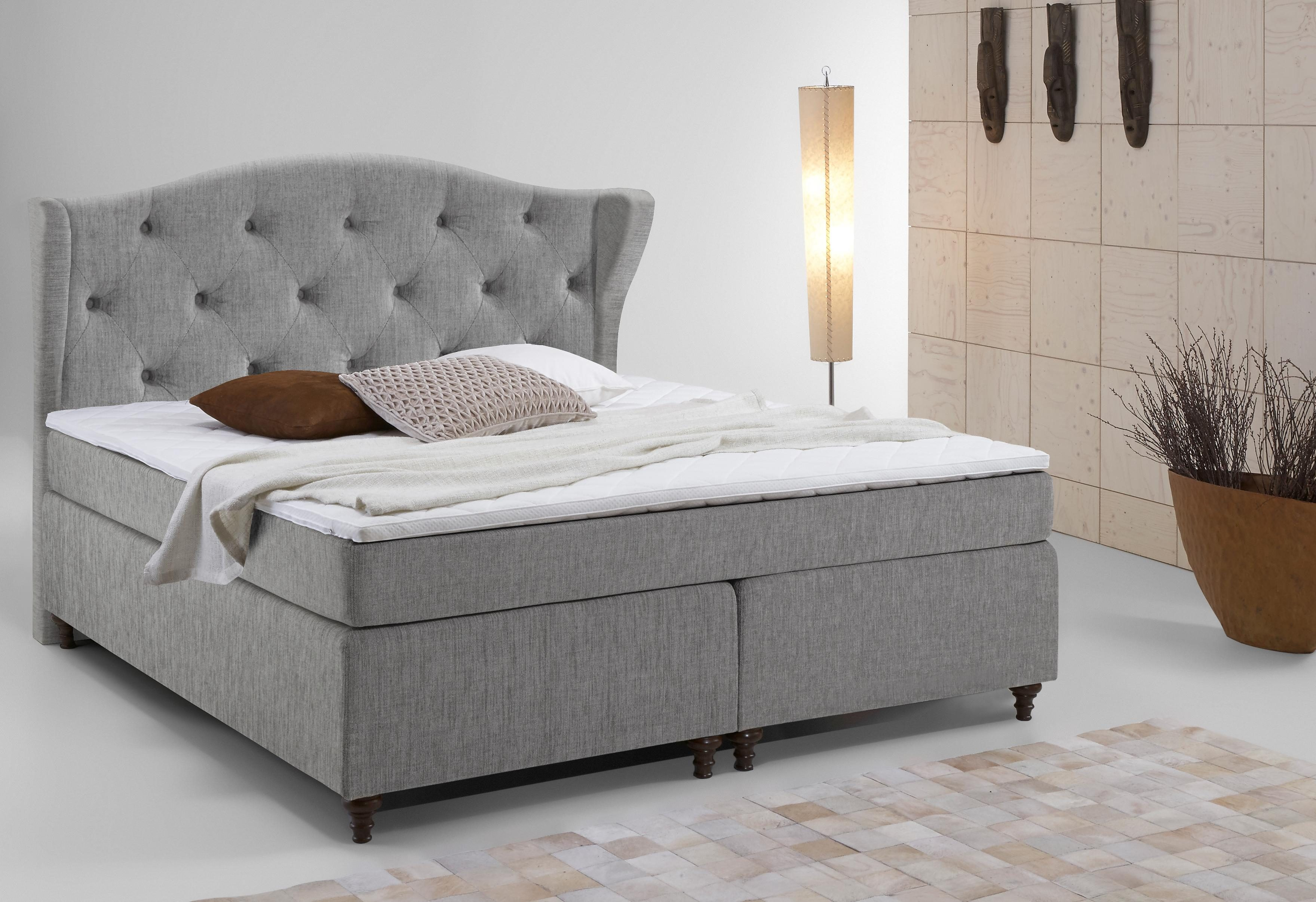 Bett Boxspring Home Affaire Boxspring-bett »felix«, Inkl. Topper | Otto