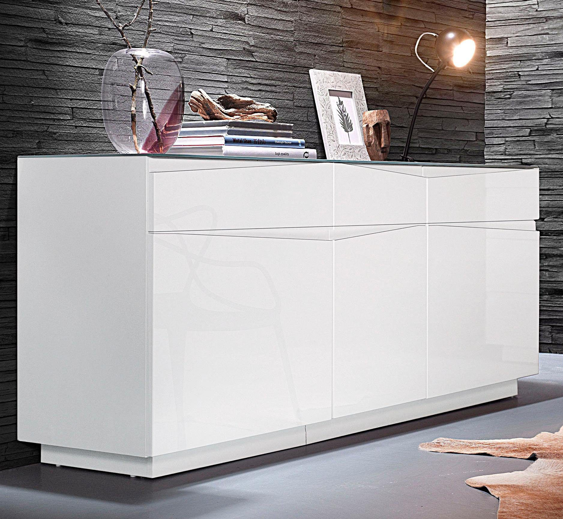 Sideboard 160 Homexperts Sideboard Sharpcut Breite 160 Cm Otto