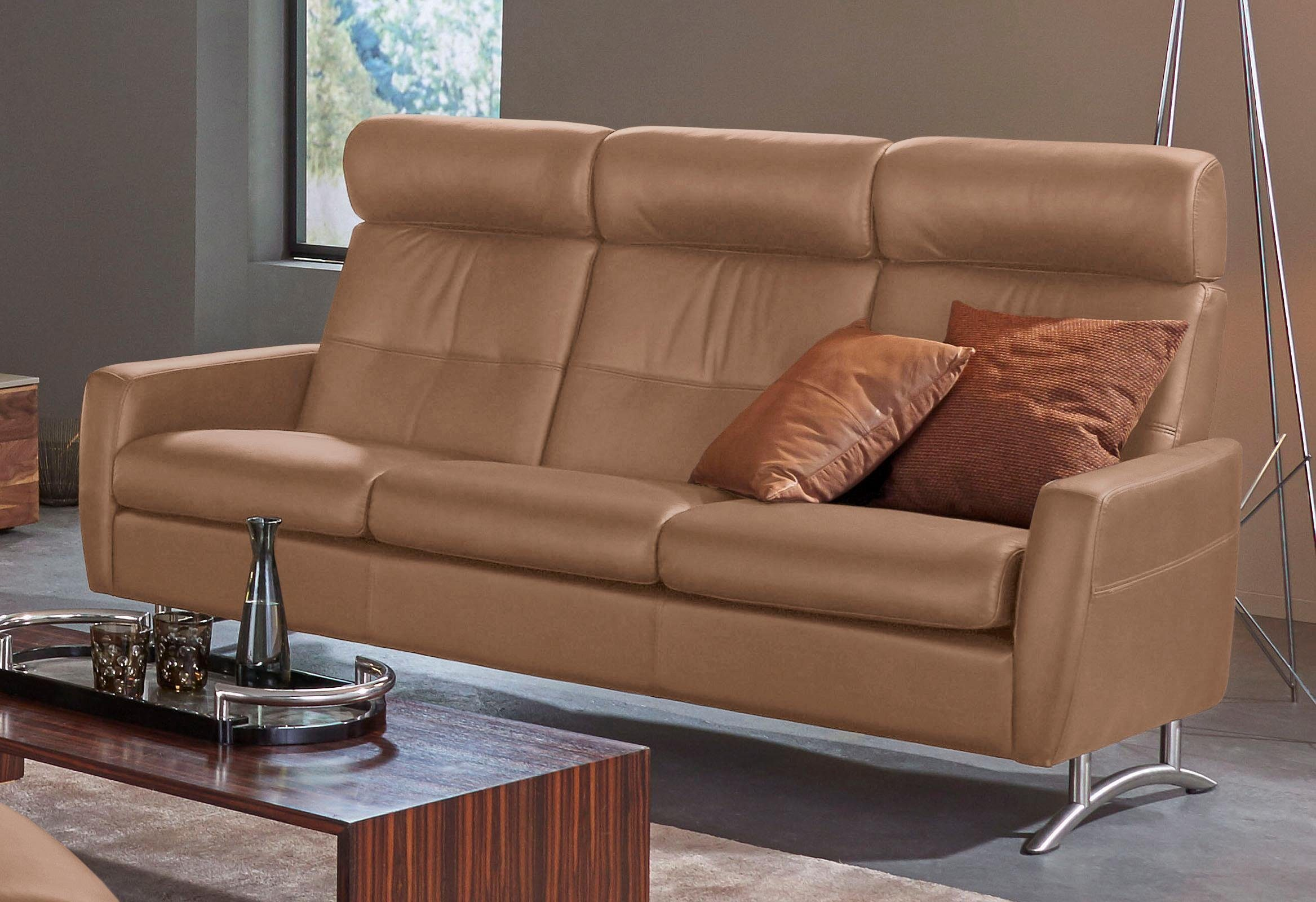 Metall Sofa Places Of Style 3-sitzer Comfort Sofa »stella C100hb