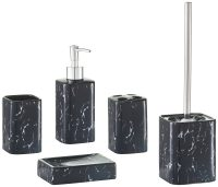 ZELLER Bad-Accessoire-Set Marmor, 5-teilig | OTTO