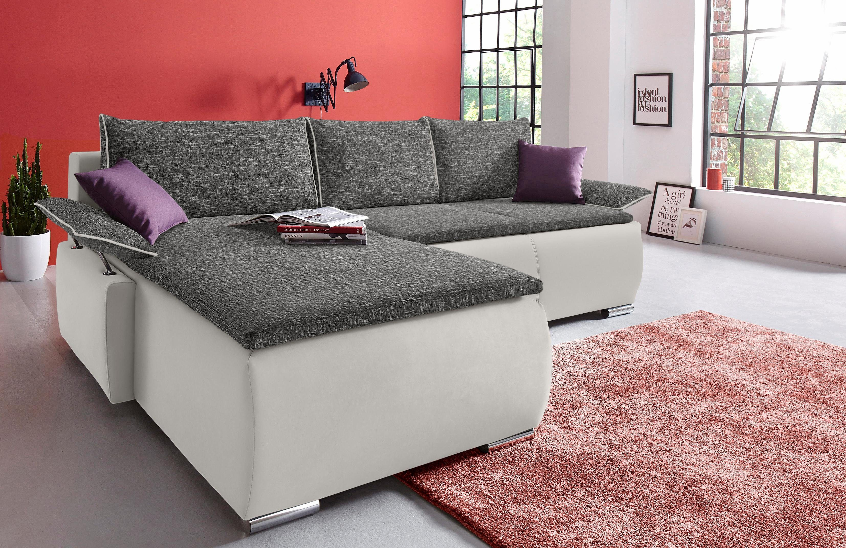 Collection Ab Polsterecke Mit Boxspring Aufbau Otto - Ecksofa Senioren