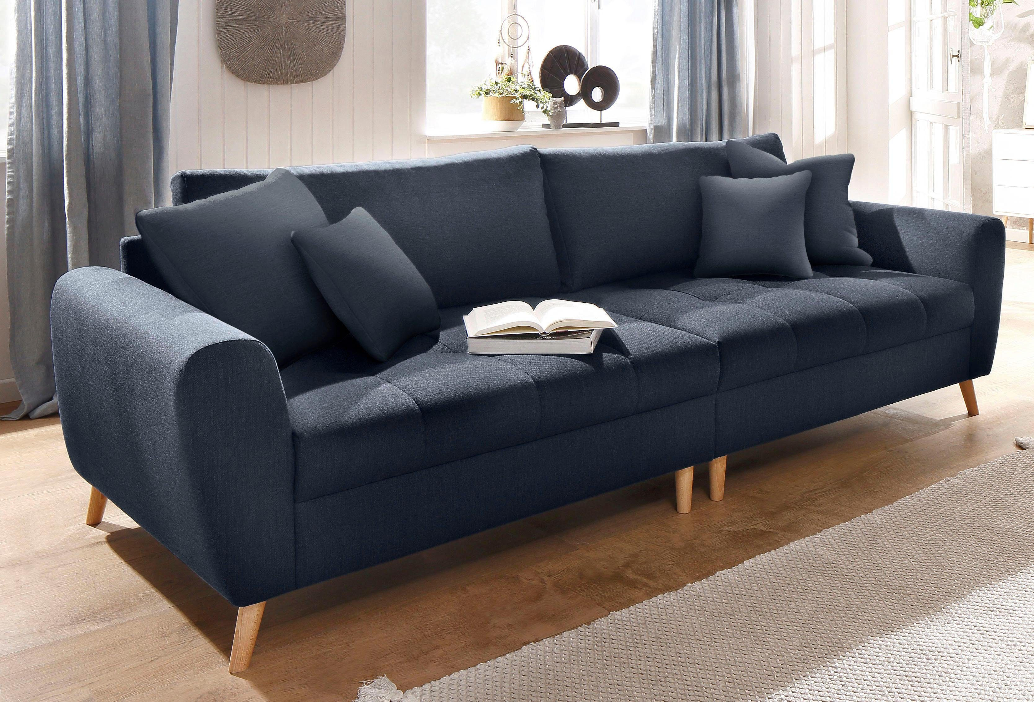 Home Affaire Big Sofa Jordsand Mit Feiner Steppung Und - Otto Sofa Home Affaire