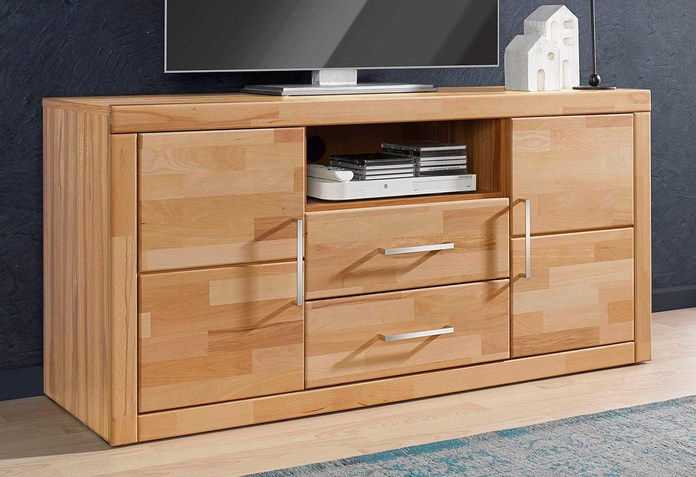 Tv On Sideboard Places Of Style Lowboard, Breite 130 Cm Kaufen | Otto