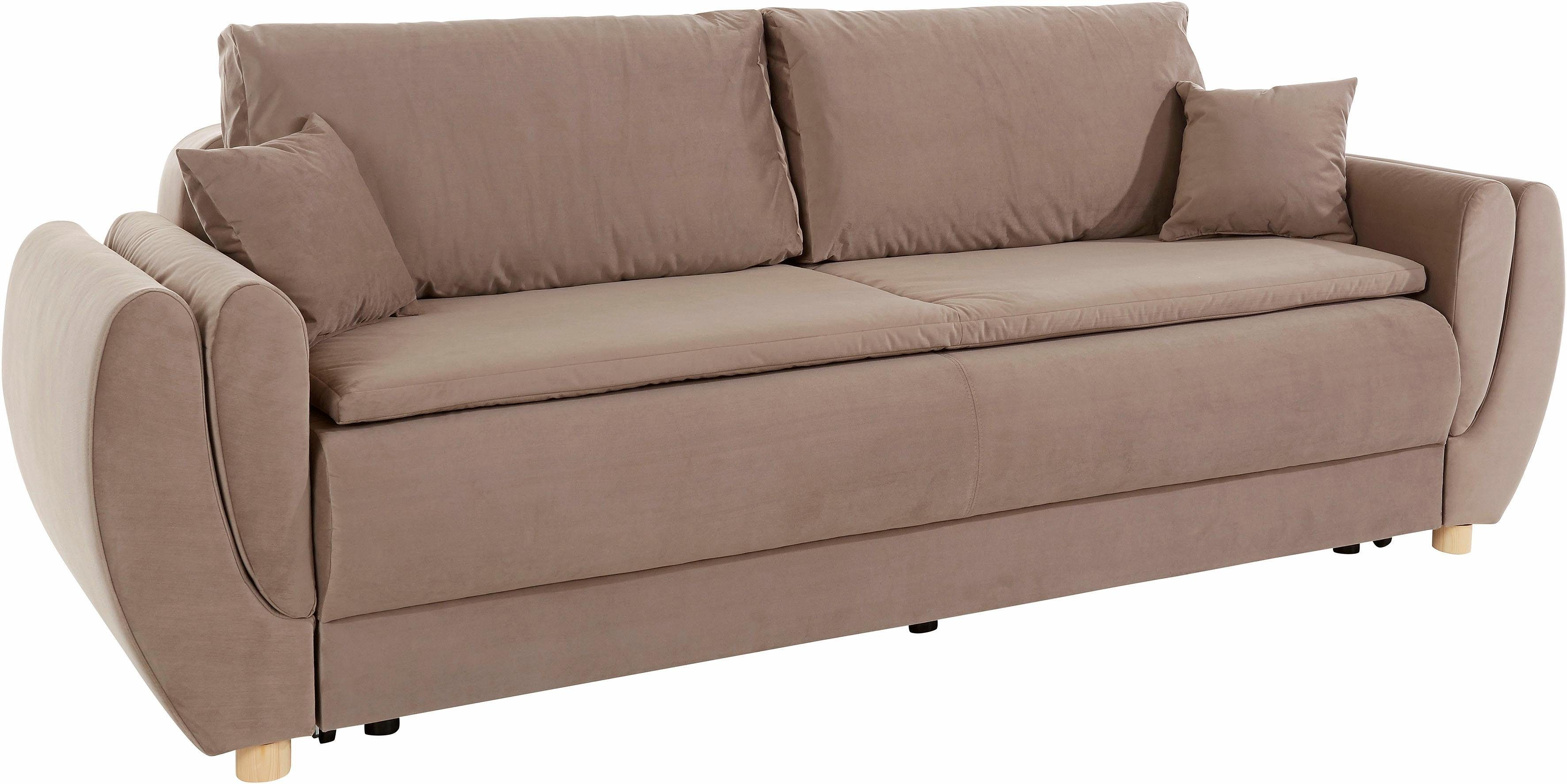 Bettsofa Kaufen Places Of Style Boxspring-schlafsofa »lausanne« Mit
