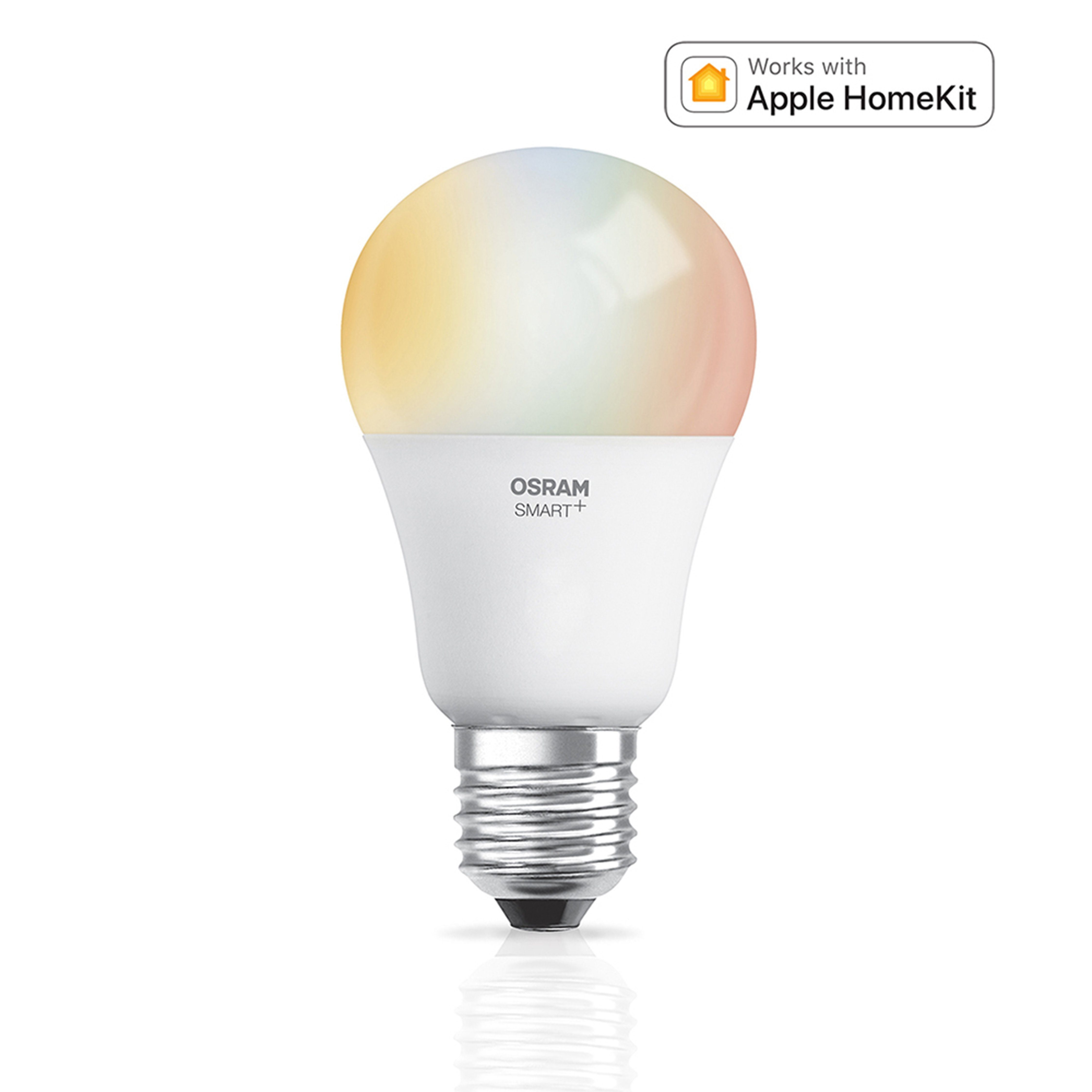Led Dimmbar E27 Osram Smart Smart Home Led Retrofit Lampe Dimmbar Apple Homekit Classic E27 Multicolor 230v Online Kaufen Otto