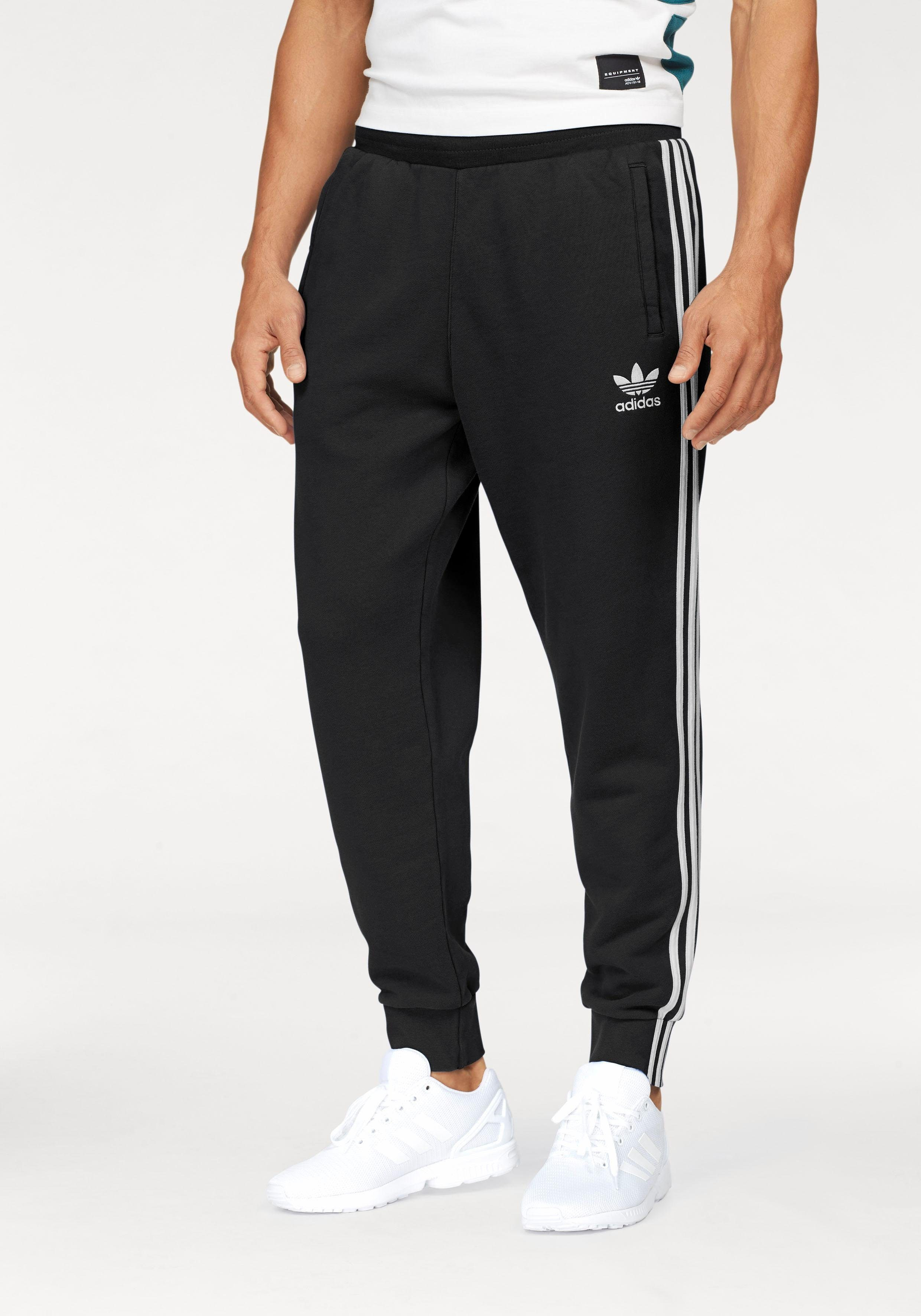T Shirt Schwarz Adidas Originals Jogginghose »3-stripes Pants« | Otto
