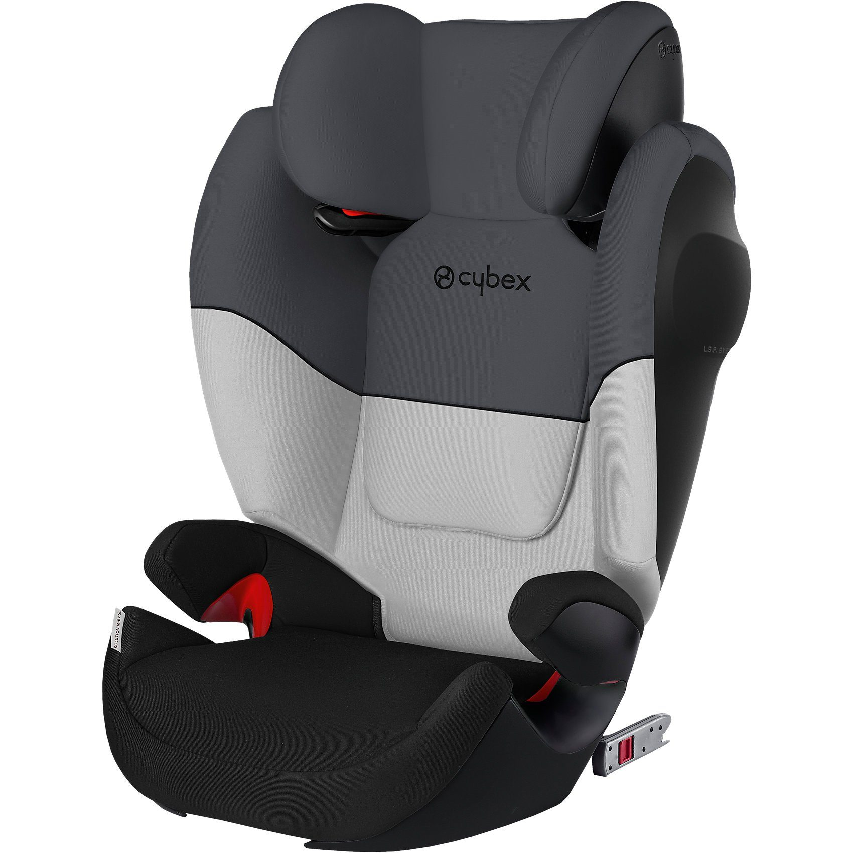 Kindersitz Cybex Fix Cybex Auto Kindersitz Solution M Fix Sl Silver Line Grey